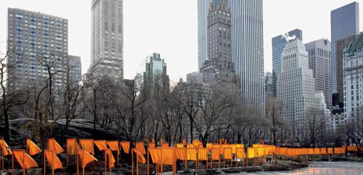 Le  Land art : The Gates de Christo et Jeanne Claude