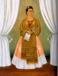 Self-Portrait Dedicated to Leon Trotsky, 1937 - by Frida Kahlo