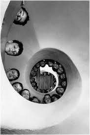 henri-cartier-bresson-hyeres-france-1932-bicycle-blur-spiral-staircase