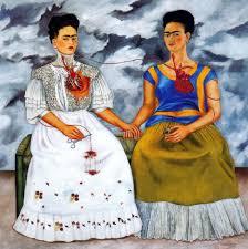 Les deux Frida,1939 huile sur toile 173 x 173,5 cm Musée d'art moderne, Mexico,