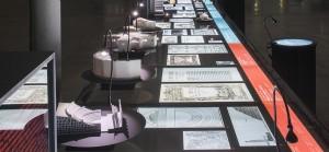 scénographie de l'exposition théatren en utopie au Lieu Unique