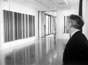 "Vue de l'exposition ""the responsive eye""1965"